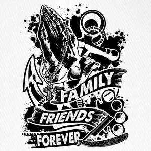 Family Friends Forever 666 - Flexfit Baseball Cap
