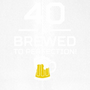 40 Brewed To Perfection - Flexfit Baseball Cap