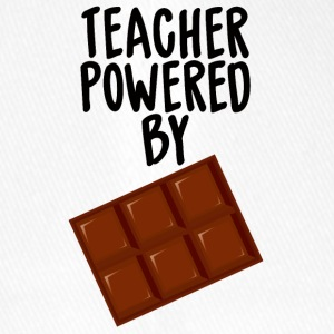 Teacher / School: Teacher Powered By Chocolate - Flexfit Baseball Cap