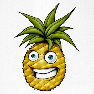 Happy laughing pineapple - Flexfit Baseball Cap
