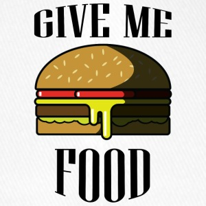Give me FOOD - Flexfit Baseball Cap