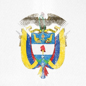 Colombia Coat of Arms Colombia Symbol - Flexfit Baseball Cap