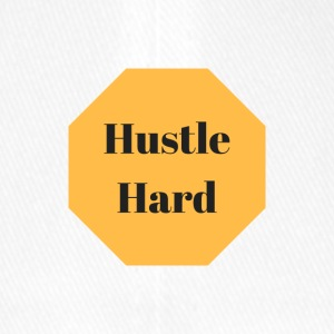 Hustle hard - Flexfit Baseball Cap