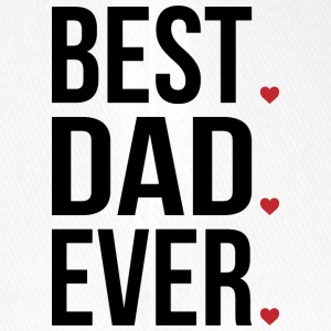 Best Dad Ever Love Fathers day - vatertag - Flexfit Baseballkappe