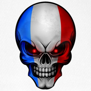 Skull France Allround designar - Flexfit basebollkeps