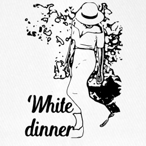 White Dinner Kollektion 1 - Flexfit Baseballkappe