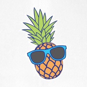 Pineapple with sunglasses - Flexfit Baseball Cap