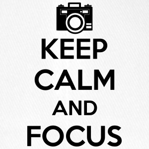 Keep Calm and Focus Photography - Flexfit Baseballkappe