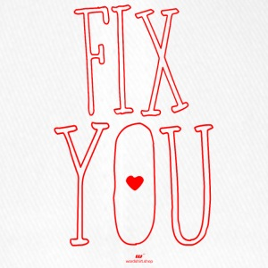 Fix you - Flexfit Baseballkappe