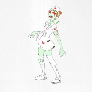 Collection Zombie: Zombie Nurse. - Casquette Flexfit