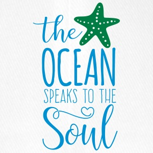 The Ocean Speaks to the Soul - Flexfit Baseball Cap