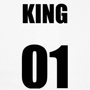 KING01 BLACK T-SHIRT - Flexfit baseballcap