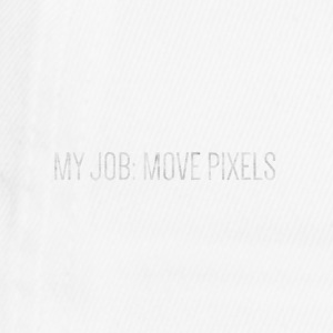 MY JOB: MOVE PIXELS - Flexfit Baseballkappe