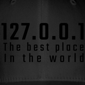 127.0.0.1 The best place in the world - Flexfit Baseball Cap