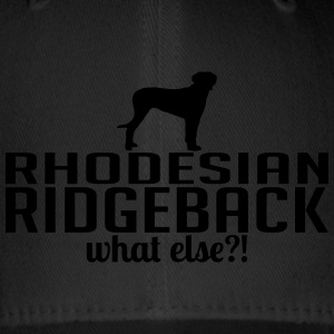 RHODESIAN RIDGEBACK what else - Flexfit Baseballkappe
