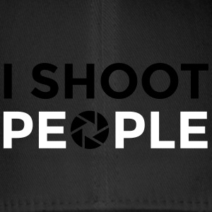 I shoot people - Flexfit Baseball Cap