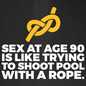 Sex At 90 Is Like Playing Pool With A Rope! - Flexfit Baseball Cap