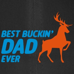 Best Dad Ever Buckin for hjortejakt far - Flexfit baseballcap