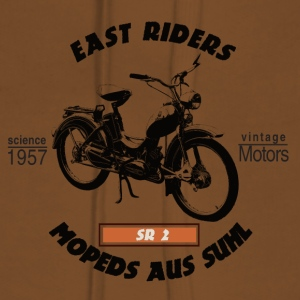 East Riders Mopeds from Suhl - Women's Premium Hoodie