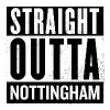 Straight Outta Nottingham - Women's Premium Hoodie