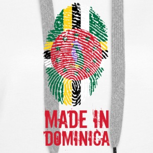 Made In Dominica Karibien - Premiumluvtröja dam