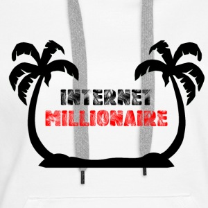 INTERNET MILLIONAIRE COLLECTION - Women's Premium Hoodie