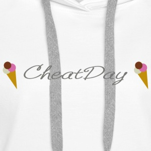 CheatDay - Sweat-shirt à capuche Premium pour femmes
