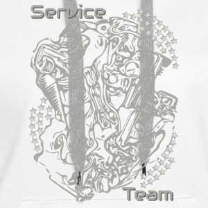 Service collection motor gray - Women's Premium Hoodie