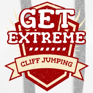 Get Extreme Cliff Jumping - Women's Premium Hoodie