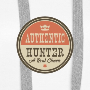 Authentic Hunter - Hunter - Women's Premium Hoodie