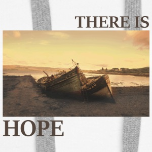 There_is_hope_natural_colour - Frauen Premium Hoodie