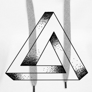 ENDLESS TRIANGLE - Women's Premium Hoodie