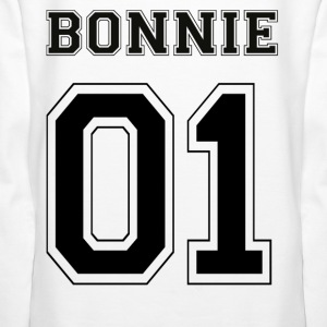 BONNIE 01 - Black Edition - Premiumluvtröja dam