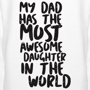 MY DAD has awesome daughter - Frauen Premium Hoodie