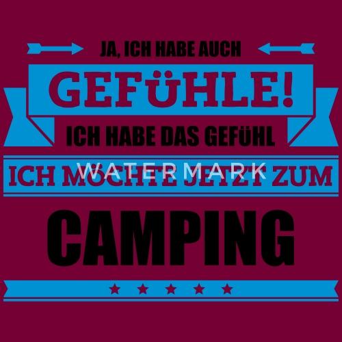 Lustiger Camping Spruch Frauen Premium Hoodie Spreadshirt
