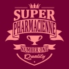 Super Pharmacienne - Sweat-shirt à capuche Premium pour femmes