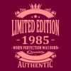 Limited Edition 1985 - Women's Premium Hoodie