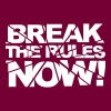 Break the rules now! - Sweat-shirt à capuche Premium pour femmes
