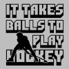 It Takes Balls to Play Hockey - Women's Premium Hoodie