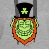 St Paddy's Day Leprechaun Grinning from Ear to Ear - Dame Premium hættetrøje