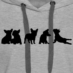 Frenchie Collection - free color selection - Women's Premium Hoodie