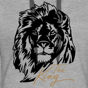 The Lion - The King - Women's Premium Hoodie