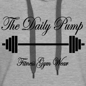 The Daily Pump Barbell - Women's Premium Hoodie