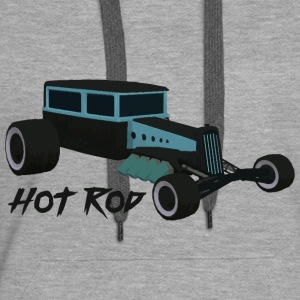 Hot Rod lover v1 - Sweat-shirt à capuche Premium pour femmes