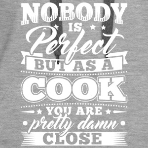 Funny Cook Cooking Shirt Nobody Perfect - Women's Premium Hoodie