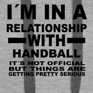 relationship with HANDBALL - Frauen Premium Hoodie