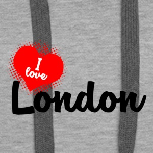 I Love London - Women's Premium Hoodie