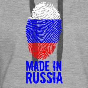 Made in Russia / Gemacht in Russland Россия - Frauen Premium Hoodie