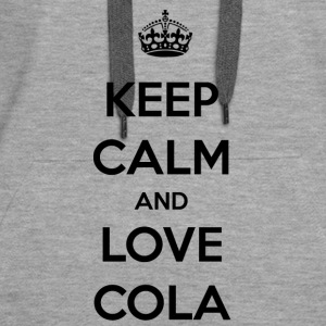 Cola. The feeling of an icy cold cola / gift - Women's Premium Hoodie