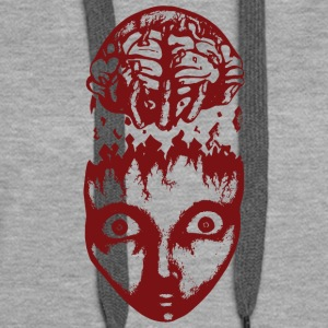 Red brain wrench - Women's Premium Hoodie